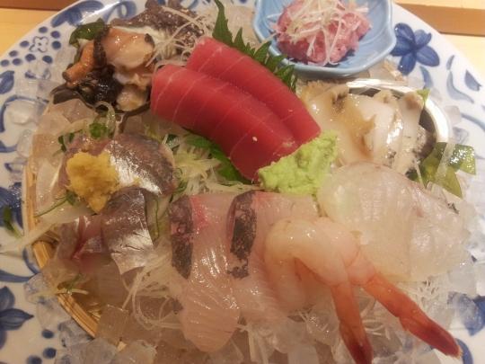 tokusen sashimi moriwase