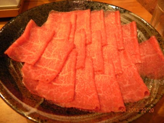 A5 wagyu shabu shabu beef