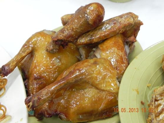 红烧乳鸽 roast pigeon HK$58