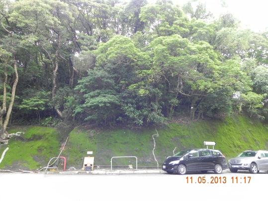 mid-way exit to Shek O road at To Tei Wan