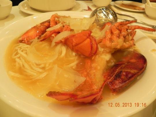 lobster noodle