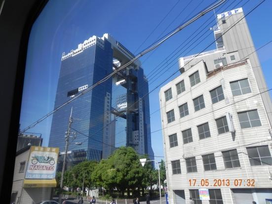 Umeda Sky building at Osaka 173m 40 floors built in 1993