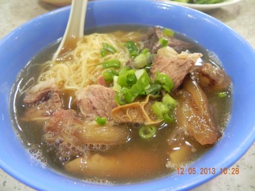 牛杂面  at HK street stalls