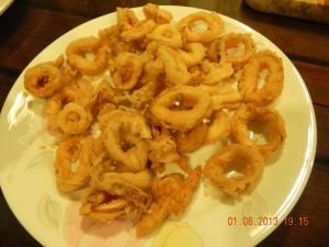 calamari (by auntie Bes)