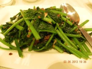 sambal spinach