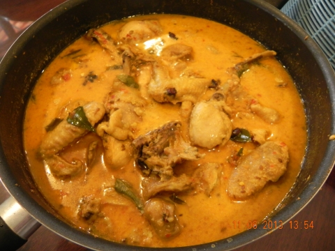 nonya curry chicken