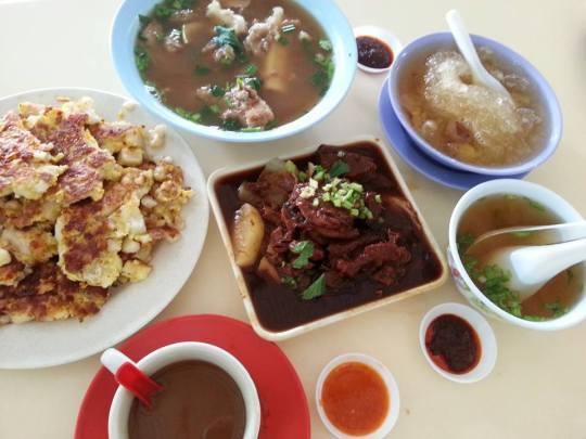 food galore @ Bukit Timah Food Centre (BTFC)
