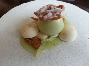 thai peanut, green apple, kaffir lime
