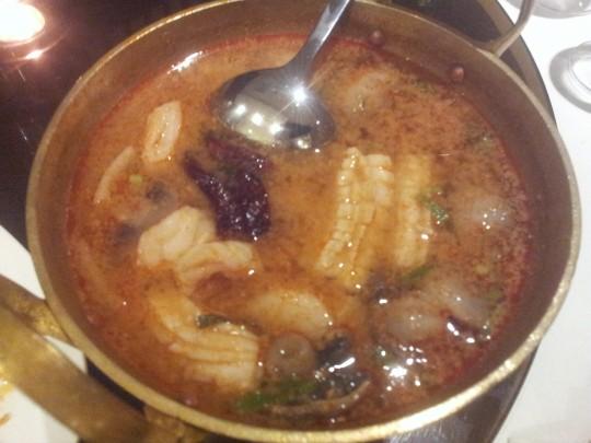 tom yam talay (seafood)