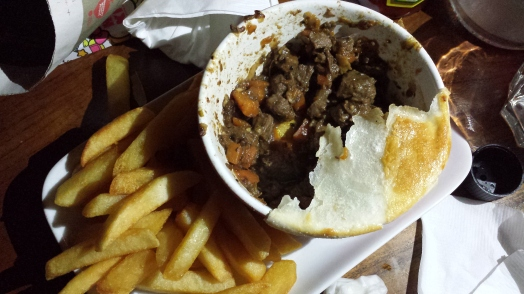 steak & guiness pie