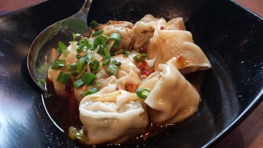抄手 spicy dumpling