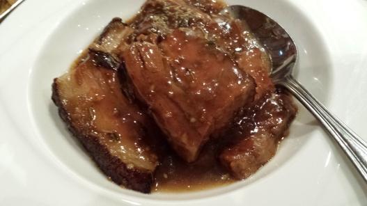 kong ba (梅菜扣肉)
