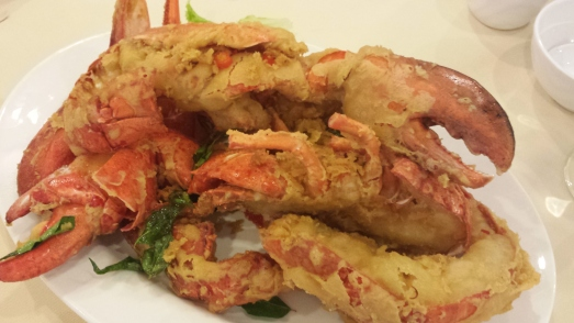 butter baked boston lobster
