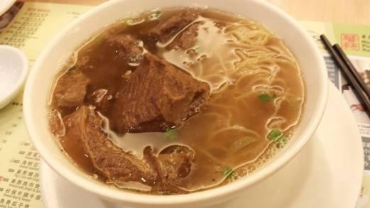 beef brisket noodles 牛腩面 - S$8