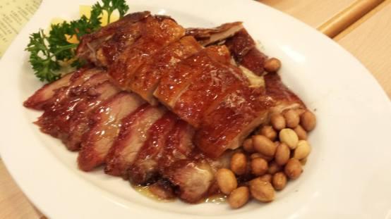 roast duck & char siew - S$18