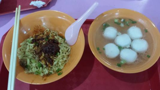 xin lu teochew fish ball noodles (former margaret drive)