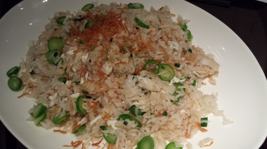 dried scallop crabmeat fried rice