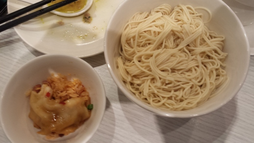 plain chicken soup la mian 清汤拉面