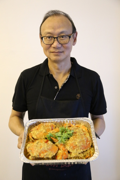 chong loong's signature chilli crab
