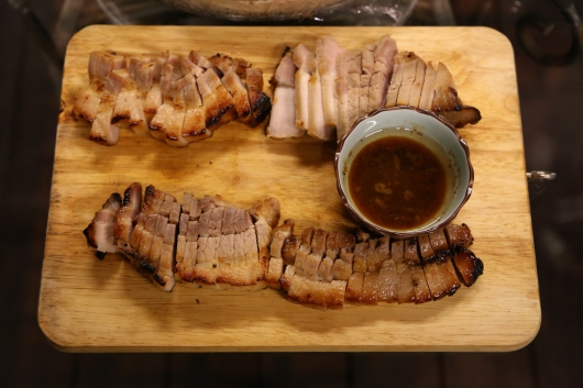miso char siew (belly pork)