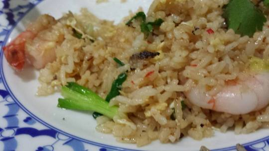 fried rice with prawns S$9