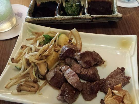 aussie beef teppanyaki