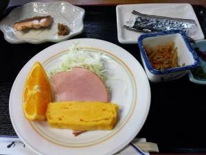 breakfast @ tateyama murodou sansou