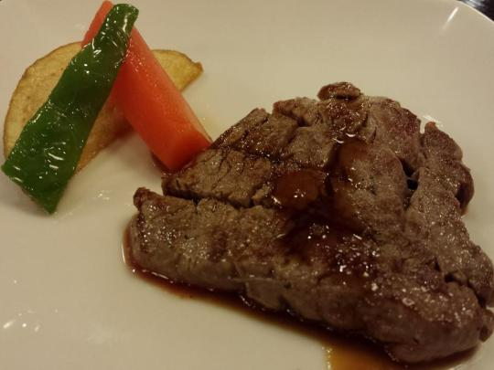 pan-fried hida beef