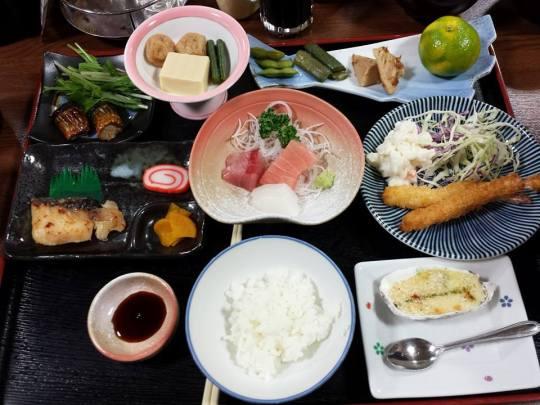 dinner @ senjusou (千寿庄)