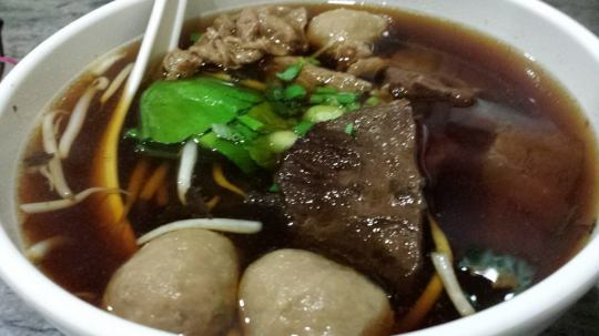 beef soup S$10