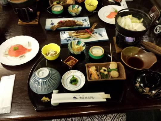 kaiseki dinner on 15.10.2013