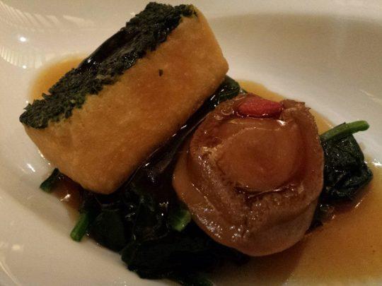 braised abalone & tofu