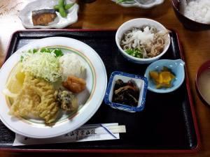 dinner @ tateyama murodou sansou