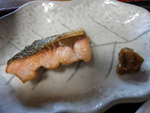 another grilled salmon