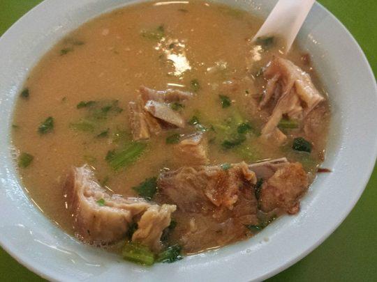 excellent lamb ribs kambing soup