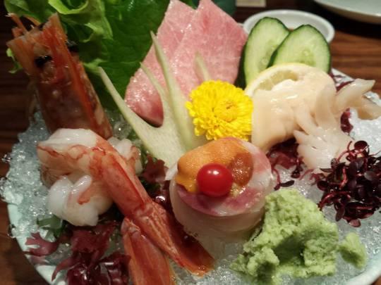 tokusen (特选) sashimi moriawase