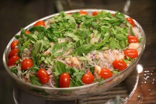 thai prawn tanhoon appetizer