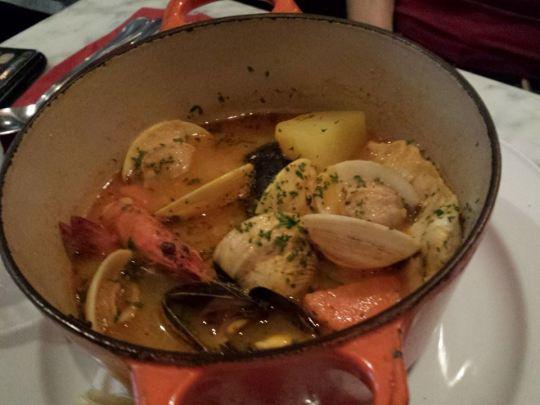 seafood bouillabaise