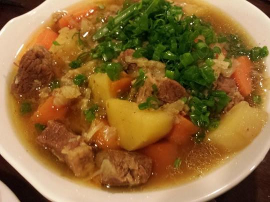 nikujaga = japanese braised beef brisket