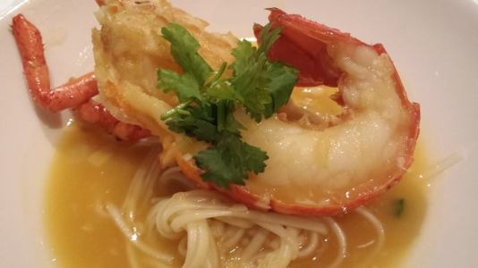 lobster noodles @ tunglok orchard parade