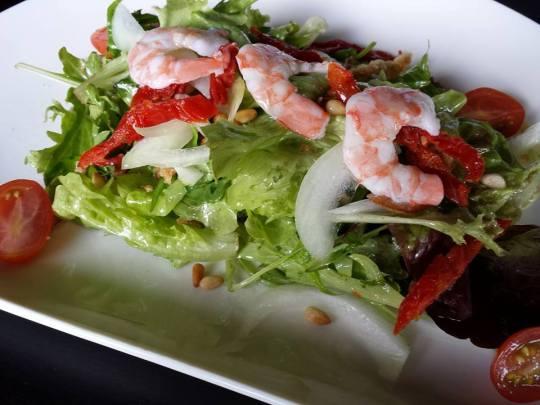 prawn citrus salad