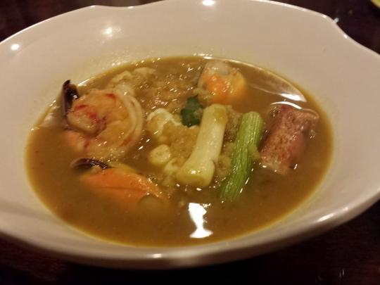 curry miso mulligatawny soup