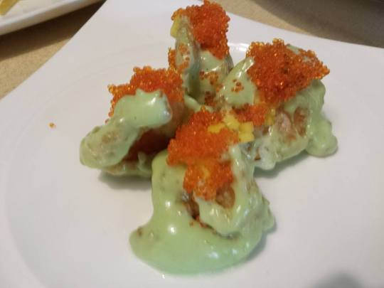 signature wasabi prawns