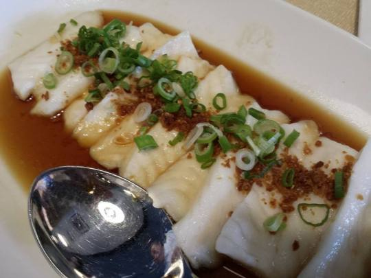 chilean seabass topped with chye poh