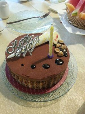 birthday cake - swissbake paradiso