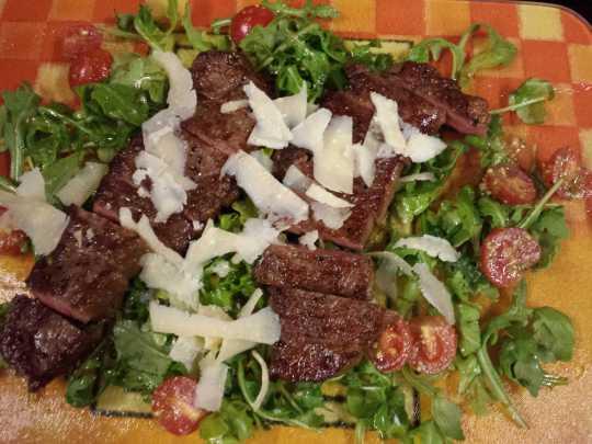 pan-fried wagyu marbling score 6/7