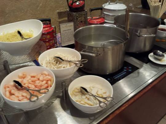 prawn noodles station