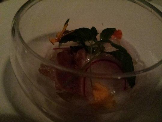 amuse bouche - foie gras terrine