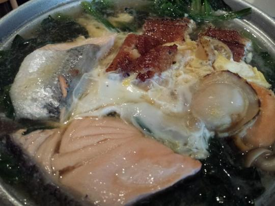 kaisen (seafood) hot plate
