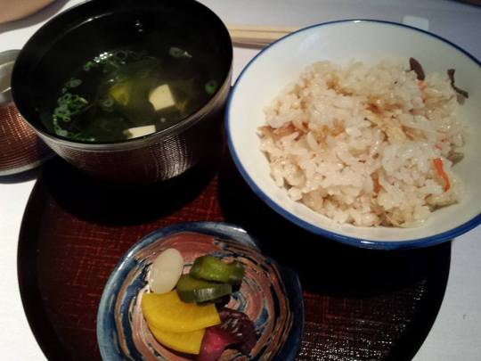 gohan (rice) set